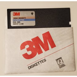"""(PC) 3M 5.25"""" 1.2mb DS HD..."""