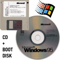Windows 95 CD & Boot Disk