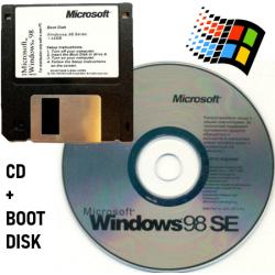 Windows 98 SE CD & Boot Disk